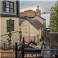 NH6645 : New housing - Raining's Stairs by valenta