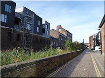 SK3588 : Access road running past the Industrial Museum by Basher Eyre