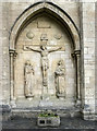 SE2955 : St Wilfred, Harrogate - Calvary by John Salmon