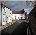ST3490 : Junction of Cross Street and Backhall Street, Caerleon by Jaggery
