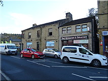 SE1115 : The former Post Office public house, Milnsbridge by JThomas