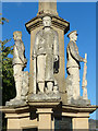 SO0451 : War memorial detail, Builth Wells by Robin Drayton