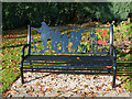SO0451 : Memorial Seat (3), Builth Wells by Robin Drayton