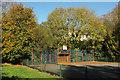 SX8966 : Basketball Court, Cormorant Close, The Willows by Derek Harper