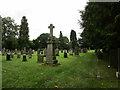 NY7287 : Cemetery at Falstone by Jonathan Thacker