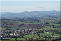 SO5212 : View to the Black Mountains by Philip Halling