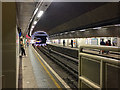 TQ3580 : Looking north-ish, Wapping Overground station, London by Robin Stott