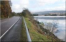 NN0925 : The A85 beside Loch Awe by Richard Sutcliffe