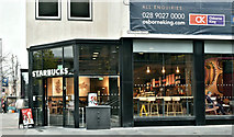 J3374 : Starbucks, Wellington Place, Belfast (November 2018) by Albert Bridge