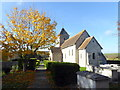 TQ4700 : St Andrew's Church, Bishopstone by PAUL FARMER