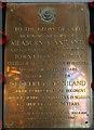TF3244 : WW1 memorial plaque, St Botolph's, Boston by Ian S