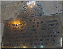 TF3244 : Boer War Memorial Plaque by Ian S
