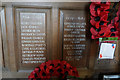 TG3333 : WW1 & 2 memorial, St Andrew's Church, Bacton by Ian S