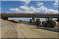 TL3167 : New Conington Road bridge by Hugh Venables