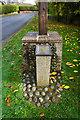 TG1216 : Attlebridge WW1 Memorial plaque by Ian S
