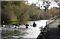 SK5803 : Canoeists on the Grand Union Canal, Leicester by Mat Fascione