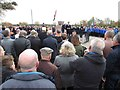 NZ3164 : Remembrance Day Crowds, Carr Ellison Park, Hebburn by Les Hull