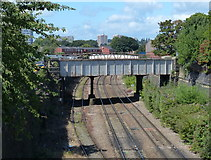 SE2932 : Railway lines in Holbeck, Leeds by Mat Fascione