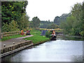 SK5908 : River Soar navigation south-east of Birstall Lock, Leicestershire by Roger  Kidd