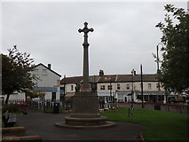 SD3347 : St. Peter's War Memorial, Fleetwood by Stephen Armstrong