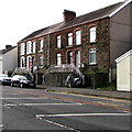 SS6697 : Stone houses above Neath Road, Swansea by Jaggery