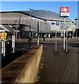 ST3088 : Short Stay Car Park direction sign, Queensway, Newport by Jaggery