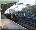 ST3088 : Steel coils in transit, Newport railway station by Jaggery
