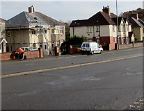 ST3090 : House roofing work, Malpas Road, Newport by Jaggery