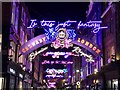 TQ2981 : Is this just fantasy - A view along Carnaby Street by Richard Humphrey