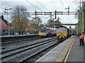 SP3097 : Atherstone Station - fast trains by Chris Allen