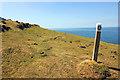 SH3647 : The Wales Coast Path near Trwyn y Tal by Jeff Buck
