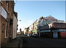 TG5307 : View west along St Peter's Road by Evelyn Simak
