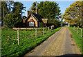 TG1436 : Former Gatehouse at Barnigham Estate by Ian S