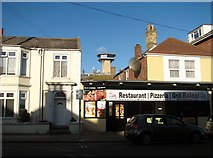 TG5307 : Pizzeria/Grill Balleal in Lancaster Road by Evelyn Simak