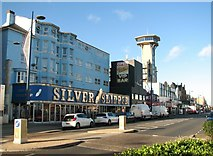 TG5307 : Tourist entertainments on Marine Parade by Evelyn Simak