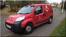 TF1505 : Royal Mail van on High Street, Glinton by Paul Bryan