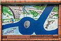 SO5174 : Mural #3, former Budgens, Upper Galdeford by Ian Capper