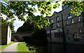 SE2535 : Kirkstall Wharf Bridge No 222 and the former Kirkstall Brewery by Mat Fascione
