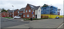 NS4865 : New houses on Marchfield Avenue by Thomas Nugent