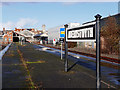 SN5881 : Running in board, Aberystwyth station by John Lucas
