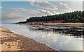 NJ0364 : Low tide at Findhorn Bay by valenta