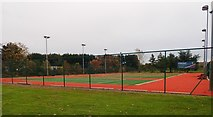 J3731 : Refurbished tennis courts at Islands Park, Newcastle by Eric Jones