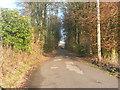 SE0218 : The driveway to Ryburn Reservoir, Rishworth by Humphrey Bolton
