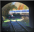 TQ0886 : The end of the Central Line by Des Blenkinsopp