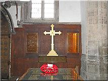 TF6120 : WW2 Memorial in St Nicholas' chapel, King's Lynn by Adrian S Pye