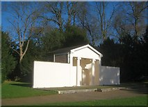 TQ1891 : Canons Park: The Temple by Nigel Cox