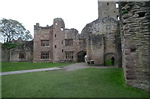 SO5074 : Ludlow Castle (Judges' Lodgings) by Fabian Musto