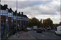TQ2586 : Flats along the A41 Hendon Way by Christopher Hilton