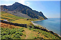 SH3646 : The Wales Coast Path approaching West End by Jeff Buck