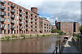 SE3132 : Roberts Wharf on the River Aire in Leeds by Mat Fascione